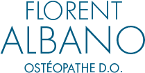 Florent Albano Ostéopathe Logo